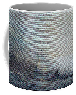 Coffee Mug featuring the painting Sea Oats by Judith Rhue