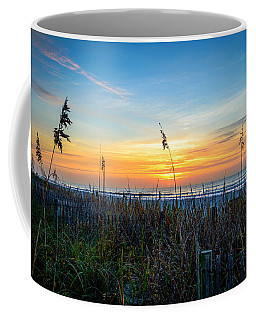 Sea Oats Sunrise Coffee Mug
