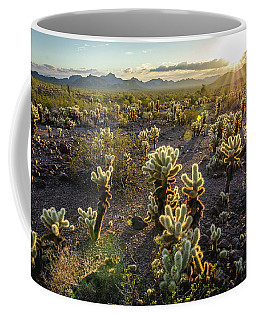Sea Of Cholla Coffee Mug