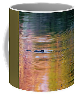Coffee Mug featuring the photograph Sea Of Color Square by Bill Wakeley