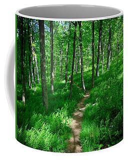 Sea Of Ferns Coffee Mug