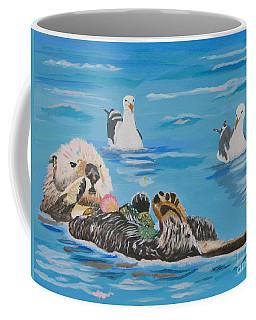 Sea Otter And Guardians Coffee Mug