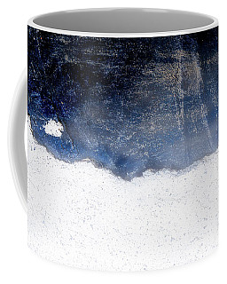 Sea, Satellite - Coast Line On Blue Ocean Illusion Coffee Mug