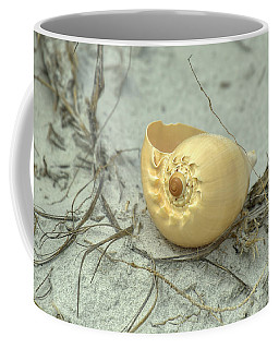 Sea Shell On The Beach Coffee Mug