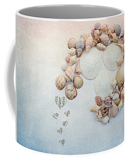 Coffee Mug featuring the photograph Sea Shells 5 by Rebecca Cozart