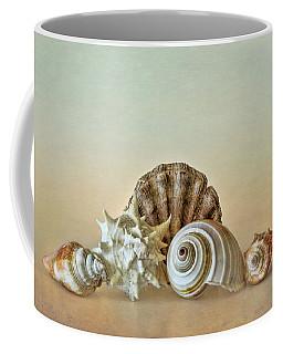 Sea Shells By The Seashore Coffee Mug by David and Carol Kelly
