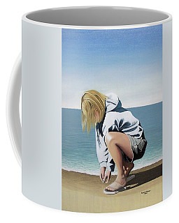 Sea Shells On The Beach Coffee Mug