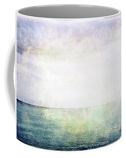 Sea, Sky And Light Grunge Image Coffee Mug