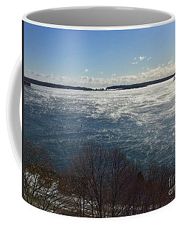 Sea Smoke On Casco Bay Coffee Mug