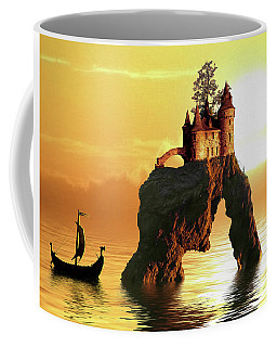 Sea Stack Castle Coffee Mug