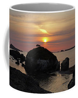 Sea Stack Sunset Coffee Mug