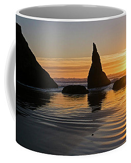 Coffee Mug featuring the photograph Sea Stacks by Inge Riis McDonald