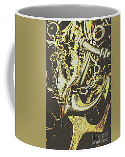 Sea Tides And Maritime Anchors Coffee Mug