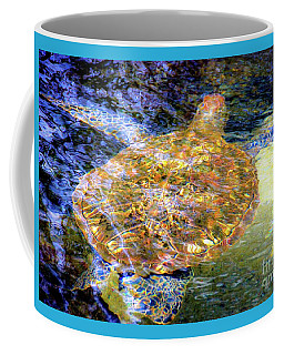 Coffee Mug featuring the photograph Sea Turtle In Hawaii by D Davila