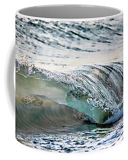 Sea Turtles In The Waves Coffee Mug