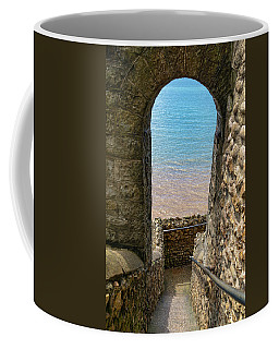 Coffee Mug featuring the photograph Sea View Arch by Scott Carruthers
