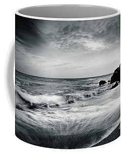 Sea Waves On The Beach Coffee Mug