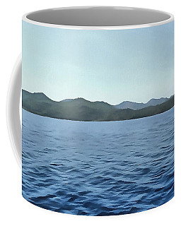 Coffee Mug featuring the painting Seafarer by Tracey Harrington-Simpson
