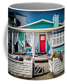 Coffee Mug featuring the photograph Seafoam Shanty by T Brian Jones