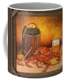 Seafood Night Coffee Mug by Susan Dehlinger