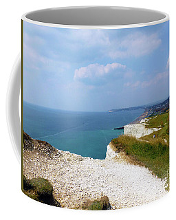Seaford Cliff View Coffee Mug
