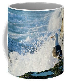 Seagull And The Sea Coffee Mug