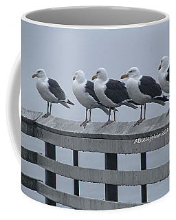 Seagull Friends Coffee Mug