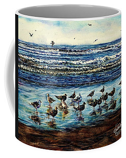 Seagull Get-together Coffee Mug