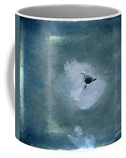 Seagull On Iceflow Coffee Mug by Victoria Harrington