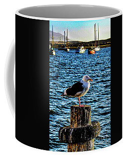 Seagull Perch Coffee Mug