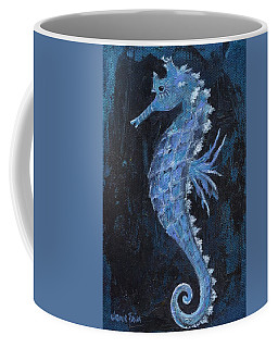 Coffee Mug featuring the painting Seahorse by Jamie Frier