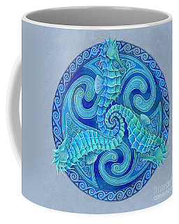 Seahorse Triskele Coffee Mug