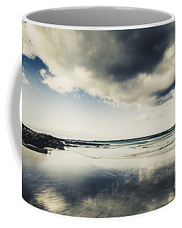 Seas And Storm Cloud Reflections Coffee Mug