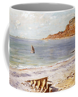 Seascape At Sainte Adresse  Coffee Mug