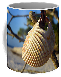 Cockelshell On Tree Branch Coffee Mug