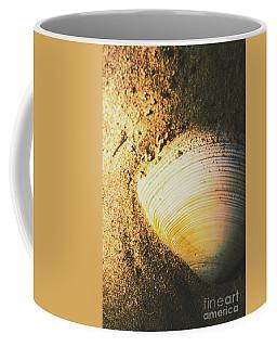 Seashells And Beach Colours Coffee Mug