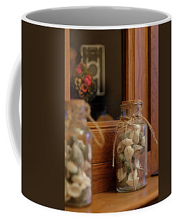 Coffee Mug featuring the photograph Seashells by Jeremy Lavender Photography