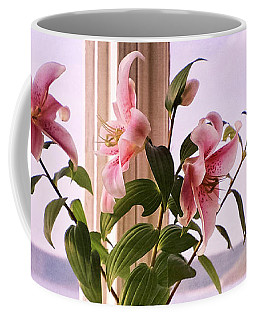 Seaside Lilies Coffee Mug by Terri Waters