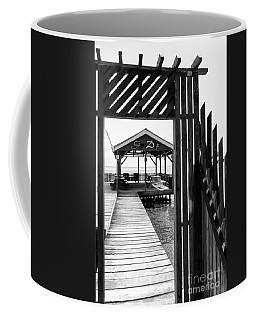 Coffee Mug featuring the photograph Seaside Pavilion by Lawrence Burry