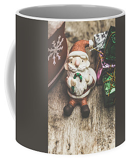 Seasons Greeting Santa Coffee Mug
