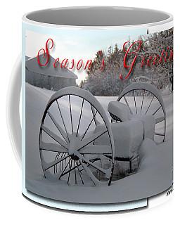 Coffee Mug featuring the photograph Seasons Greetings by Alana Ranney
