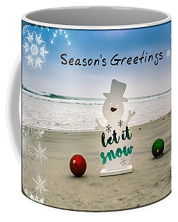 Coffee Mug featuring the photograph Season's Greetings by Alison Frank