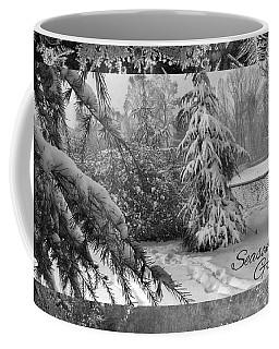Coffee Mug featuring the photograph Seasons Greetings by Robert G Kernodle