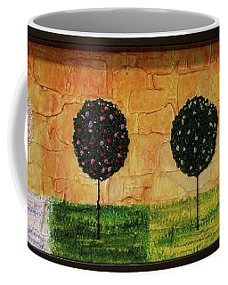 Coffee Mug featuring the painting Seasons Of Love by Jane Chesnut
