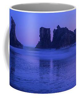 Seastack Sunset In Bandon Coffee Mug