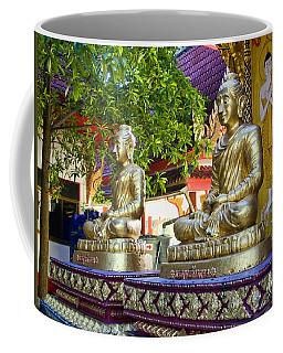 Seated Buddhas Coffee Mug