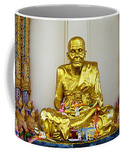 Seated Holy Man At Koh Samui Coffee Mug