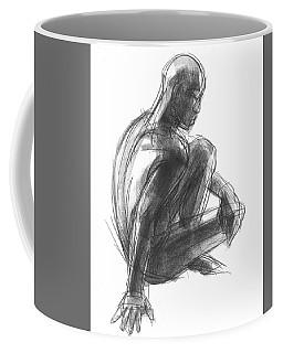 Seated Male Figure Study Coffee Mug