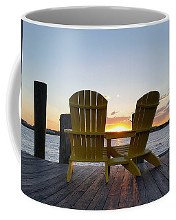 Seats For Sunset Coffee Mug