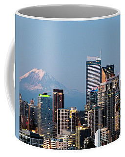 Seattle At First Light II Coffee Mug